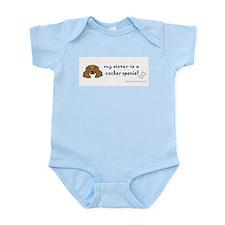 cocker spaniel gifts Infant Bodysuit
