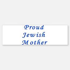 Proud Jewish Mother Bumper Bumper Bumper Sticker