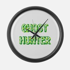 Ghost Hunter Large Wall Clock