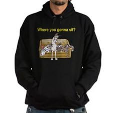 4on Where You Gonna Sit Hoodie