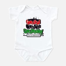 One God One Aim One Destiny Infant Bodysuit