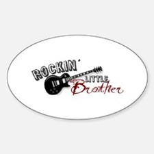 Rockin Little Brother (2009) Oval Decal