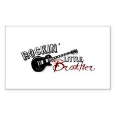 Rockin Little Brother (2009) Rectangle Decal
