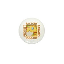 Animal Rights Mini Button (10 pack)