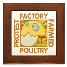 Animal Rights Framed Tile