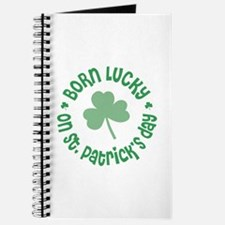 St. Patrick's Day Birthday Journal