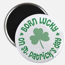 "St. Patrick's Day Birthday 2.25"" Magnet (10 pack)"