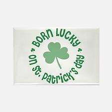 St. Patrick's Day Birthday Rectangle Magnet