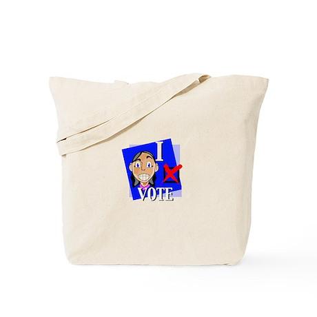 I Vote Tote Bag