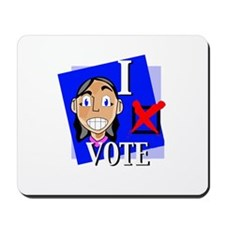 I Vote Mousepad