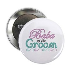 """Baba of the Groom 2.25"""" Button"""