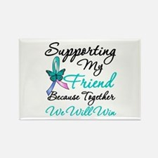 Thyroid Cancer Friend Rectangle Magnet