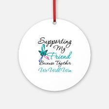 Thyroid Cancer Friend Ornament (Round)
