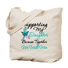 Thyroid Cancer Daughter Tote Bag