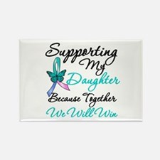 Thyroid Cancer Daughter Rectangle Magnet