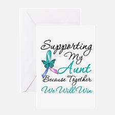 Thyroid Cancer (Aunt) Greeting Card