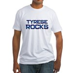 tyrese rocks Fitted T-Shirt