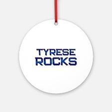 tyrese rocks Ornament (Round)