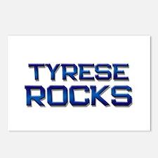 tyrese rocks Postcards (Package of 8)
