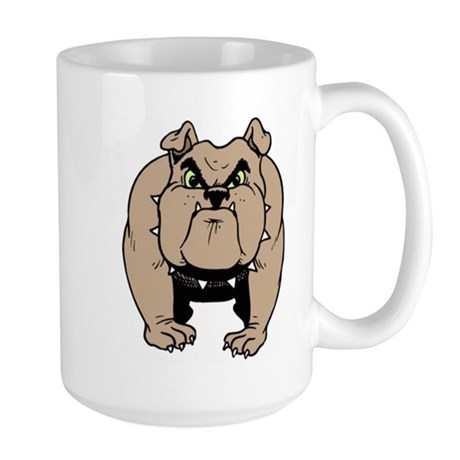 big dog Large Mug