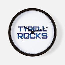tyrell rocks Wall Clock