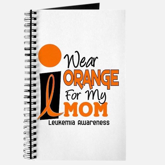 I Wear Orange For My Mom 9 Journal
