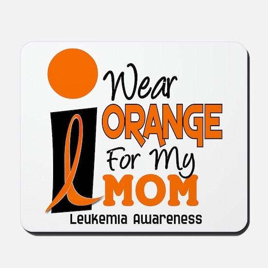 I Wear Orange For My Mom 9 Mousepad