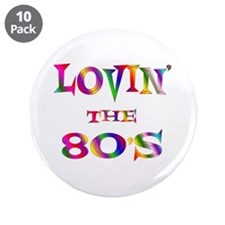 """80's 3.5"""" Button (10 pack)"""