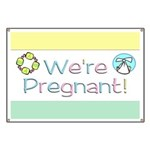We're Pregnant! Banner