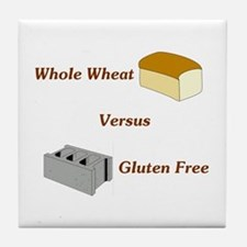 Wheat vs. Gluten Free Tile Coaster