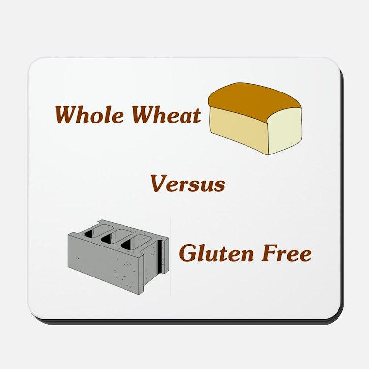 Wheat vs. Gluten Free Mousepad