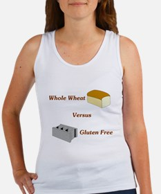 Wheat vs. Gluten Free Women's Tank Top