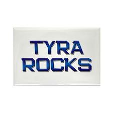 tyra rocks Rectangle Magnet