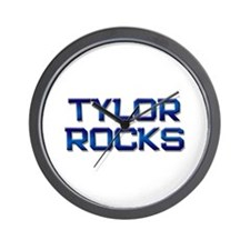 tylor rocks Wall Clock