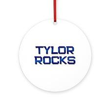 tylor rocks Ornament (Round)