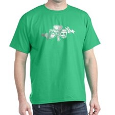 Retro Boston Shamrock T-Shirt