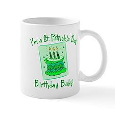 St Patricks Day Birthday Baby Mug