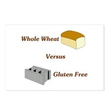 Wheat vs. Gluten Free Postcards (Package of 8)