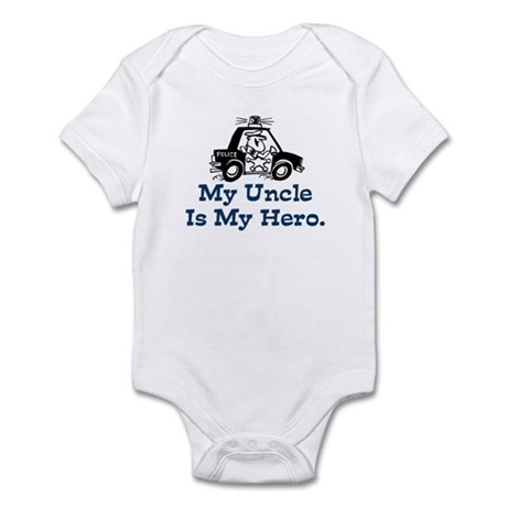 My Uncle is My Hero Infant Bodysuit