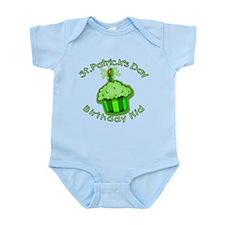 St Patricks Day Birthday Kid Infant Bodysuit