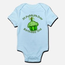 St Patricks Day Birthday Kid Infant Bodysuit
