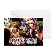 Mardi Gras 2 Greeting Card