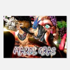 Mardi Gras 2 Postcards (Package of 8)