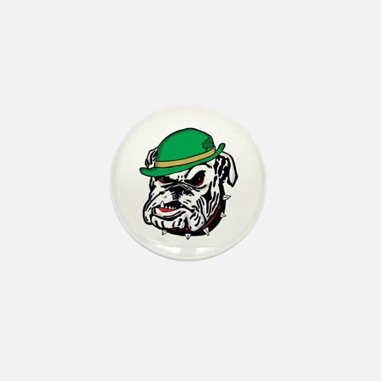 Irish Bulldog Mini Button