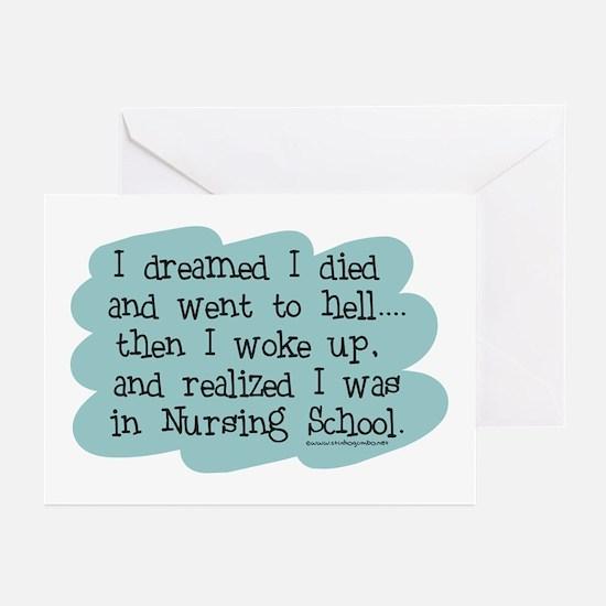 Nursing School Hell Greeting Cards (Pk of 10)