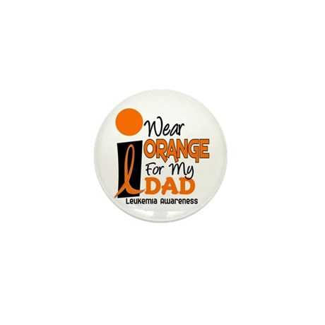 I Wear Orange For My Dad 9 Mini Button