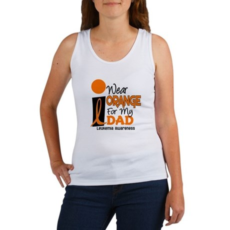 I Wear Orange For My Dad 9 Women's Tank Top