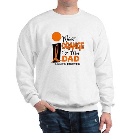 I Wear Orange For My Dad 9 Sweatshirt