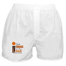 I Wear Orange For My Dad 9 Boxer Shorts