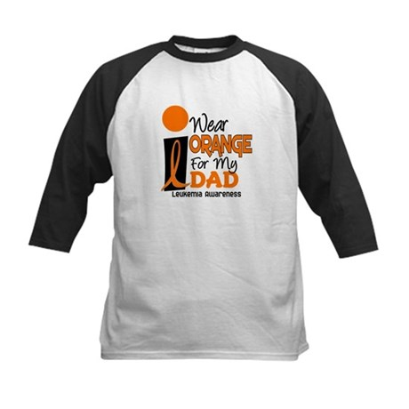 I Wear Orange For My Dad 9 Kids Baseball Jersey